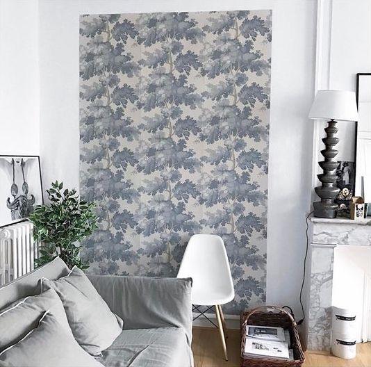 Papier Peint Aux Arbres Bleus Raphael En 2019 Papier