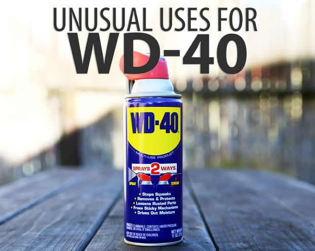 WD-40 is a low viscosity solvent with an added lubricant, and probably the most item found in almost every tool box and workshop around the world. The story goes...