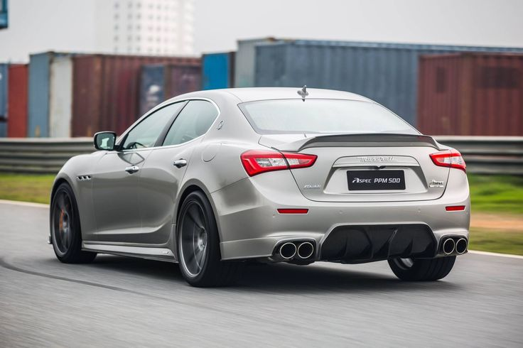 ASPEC Maserati Ghibli Carbon Fiber Kit from China Packs Aggression - Photo Gallery - autoevolution