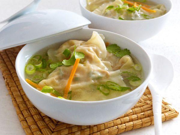 Wan-Tan-Suppe - so geht's Schritt für Schritt - wan-tan-suppe Rezept