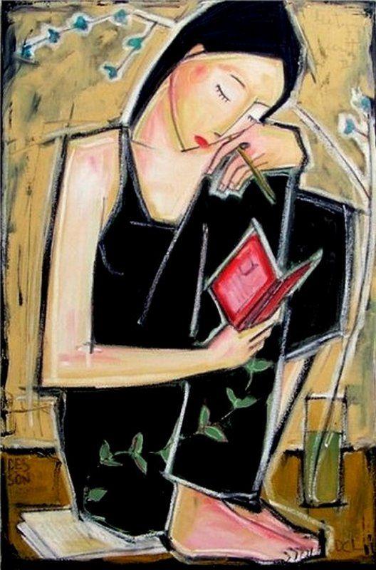 La lectura   CHIASSON DENIS, DESSON (1968- )