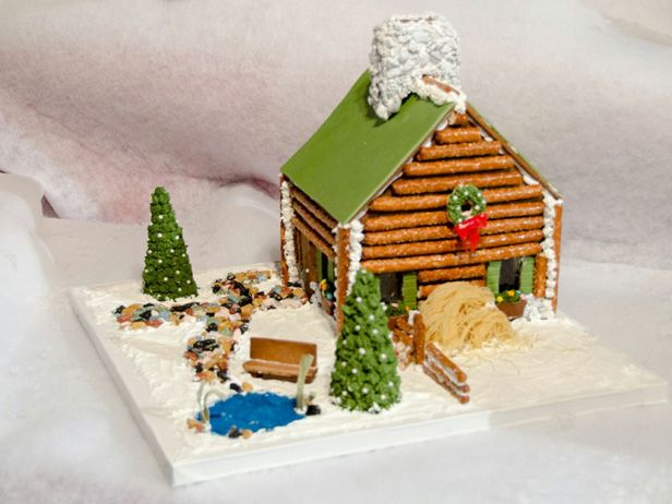 1000+ images about Log Cabin Cakes on Pinterest  Hunting  ~ 115459_Log Cake Decoration Ideas