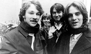Big Star, (from left) Chris Bell, Jody Stephens, Andy Hummel and Alex Chilton.