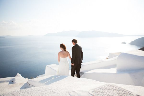 Photography : Sarah Falugo Photography Read More on SMP: http://www.stylemepretty.com/destination-weddings/2013/02/08/santorini-wedding-at-ikies-traditional-houses-from-sarah-falugo-photography/