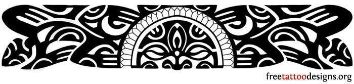 Polynesian Band Tattoo Designs | the Hawaiians and the other Polynesian islanders, an armband tattoo ... #marquesantattoosbracelet #polynesiantattoosband #marquesantattoosarmband