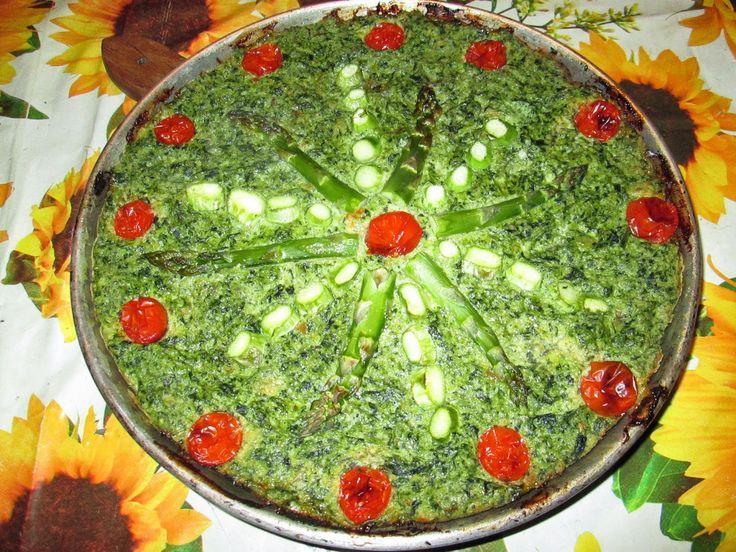 Raccontare un paese: le mie ricette: torta con erbe selvatiche