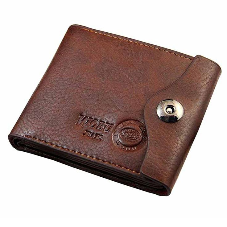 Men Hasp Wallet Leather Purse Trifold Wallets For Man High Quality Big Capacity Credit Crad Holders Money Bag Cheap