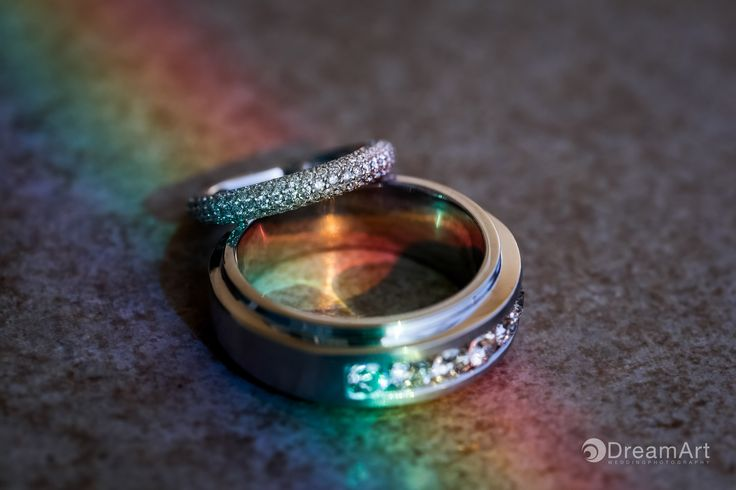 Stunning wedding rings in a rainbow colored light at @gvrivieramaya in the Mayan Riviera, Mexico. Photo courtesy of #DreamArtPhotography #DreamArtWedding #WeddingPhotography #Wedding #DestinationWeddings #Photography #RivieraMaya #MayanRivieraPhotography #MayanRiviera #Mexico #Bride #Groom #WeddingRings #Rings #Light #ColorPhotography #Color