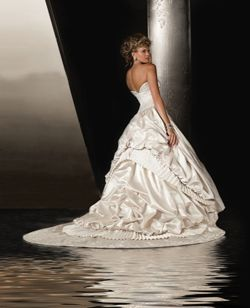 Christina Wu Wedding Dress- This dress was mine but mine was the color oyster ... Its so beautiful in person..