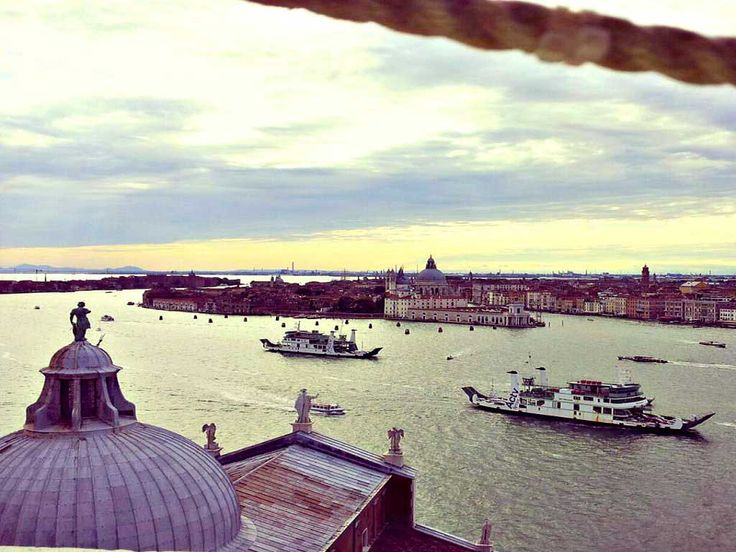 Sight of Venice from San Giorgio view by Roberta De Angelis