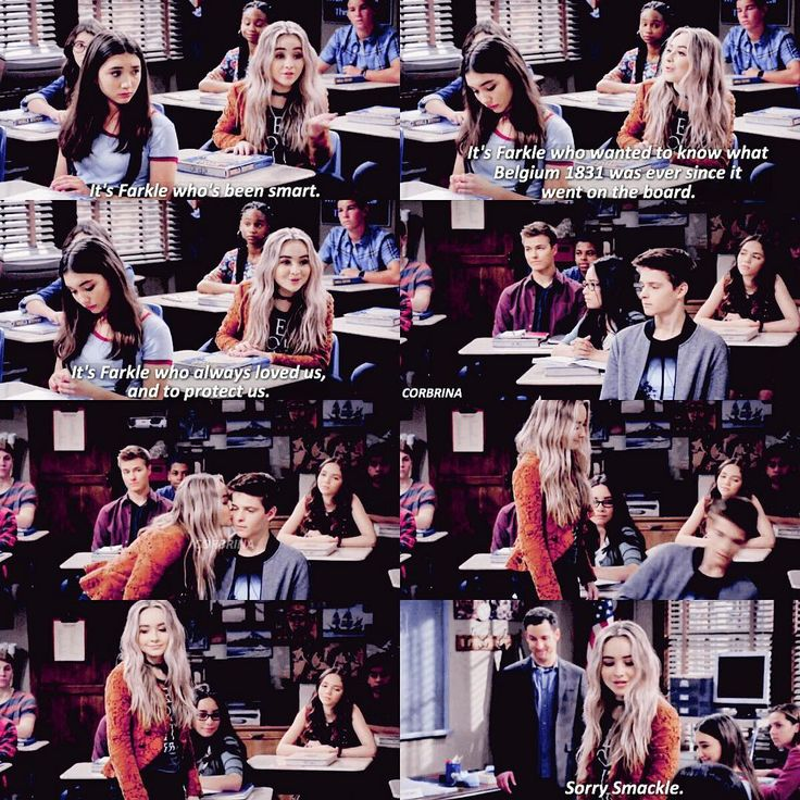 Farkle is by far my favorite. He's such a good person and the best friend ever. Girl Meets World (3x21)