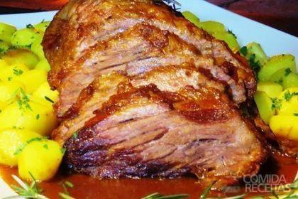 Receita de Cupim assado com batata e alecrim em receitas de carnes, veja essa e outras receitas aqui!