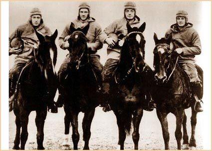 Notre Dame Football - Four Horsemen