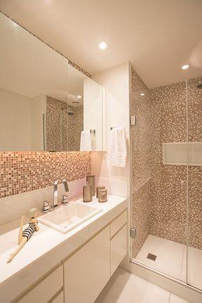 25 melhores ideias de banheiro simples e barato no - Amueblar piso pequeno barato ...