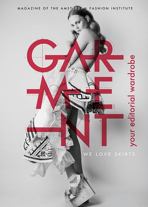 Garment Magazine is a fashion indie, entirely made by fashion students from the Amsterdam Fashion Institute – AMFI.