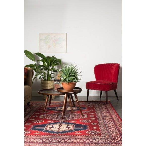 Dutchbone Jar Vloerkleed Rood - 200 x 300 cm