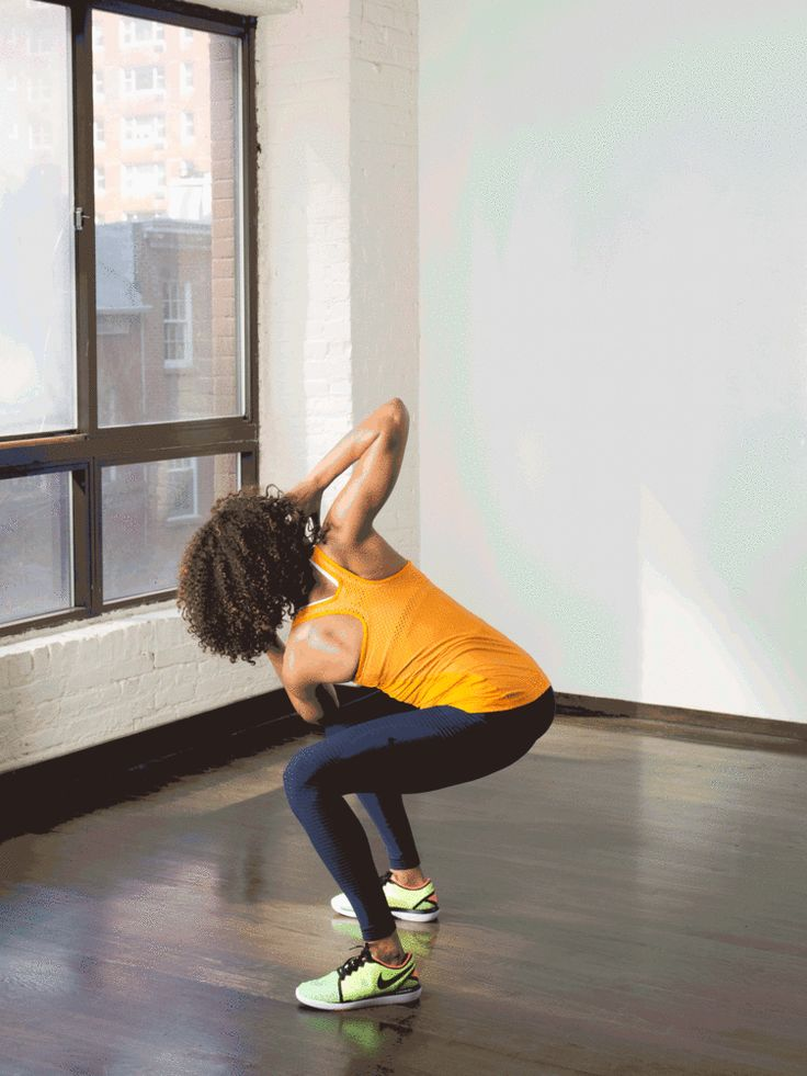 10. Chair Pose Twist #standing #abs #workout http://greatist.com/move/abs-workout-best-abs-exercises-you-can-do-standing-up