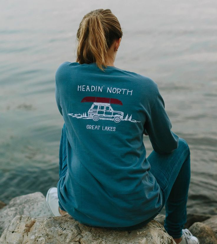 Headin' North - Long Sleeve | Great Lakes