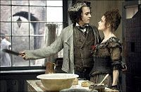Sweeney Todd : The Demon Barber of Fleet Street - Tim Burton, usa-GB, 2007