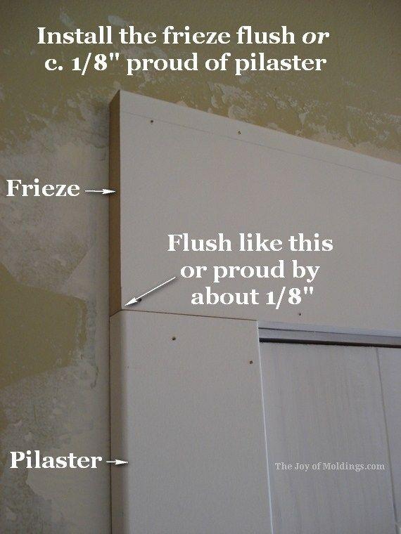How To Install Door Trim 133 For About 52 84 Door Installation Moldings And Trim Sliding Glass Door Window