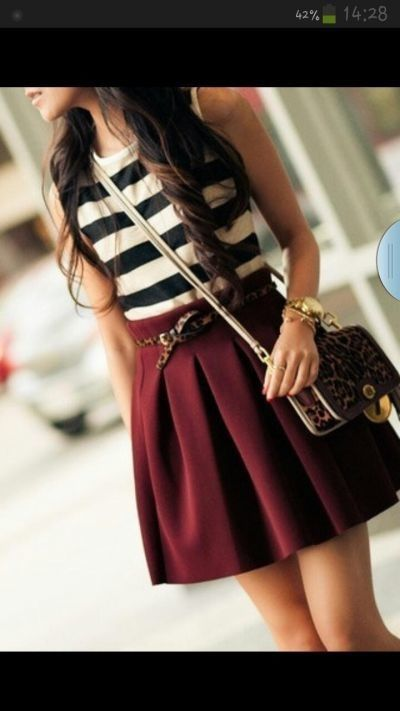 French Red || Teen Fashion ||