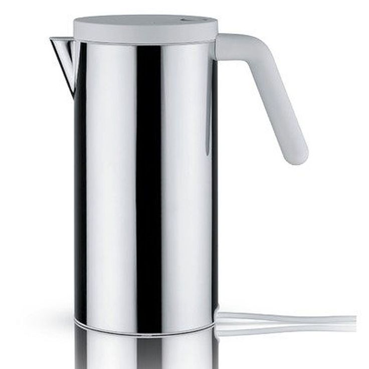 Alessi Electric Kettle Water Boiler White In Box