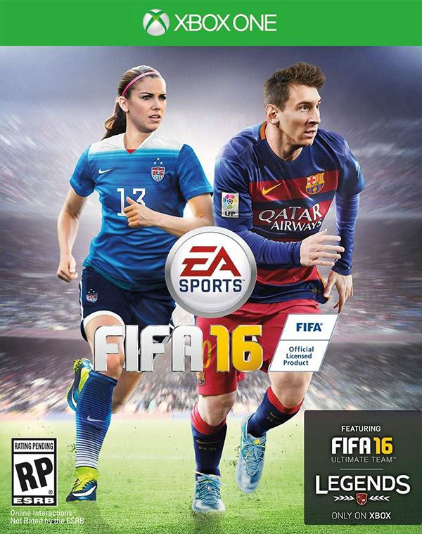 It's about time! EA Sports has finally put a female athlete on the cover of its best selling 'FIFA' video game series. US soccer star Alex Morgan will be featured in the artwork for 'FIFA 16' when the game goes on sale in late September!