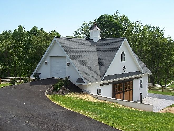 33 best images about horse barn designs on pinterest for Bank barn plans