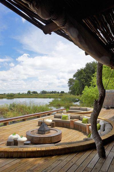 Photographic safari, team building photo safari and wildlife photography course accommodation Kings Pool, Okavango Delta, Botswana