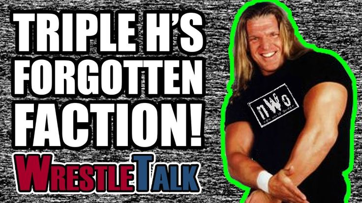 Triple H's Forgotten WWE Faction!