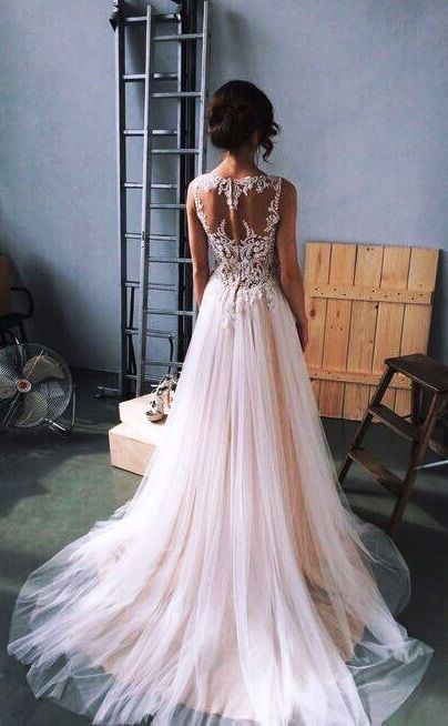 33 Enchanting Bridal Wedding Dresses You Would Love 2017 #Wedding #Dress