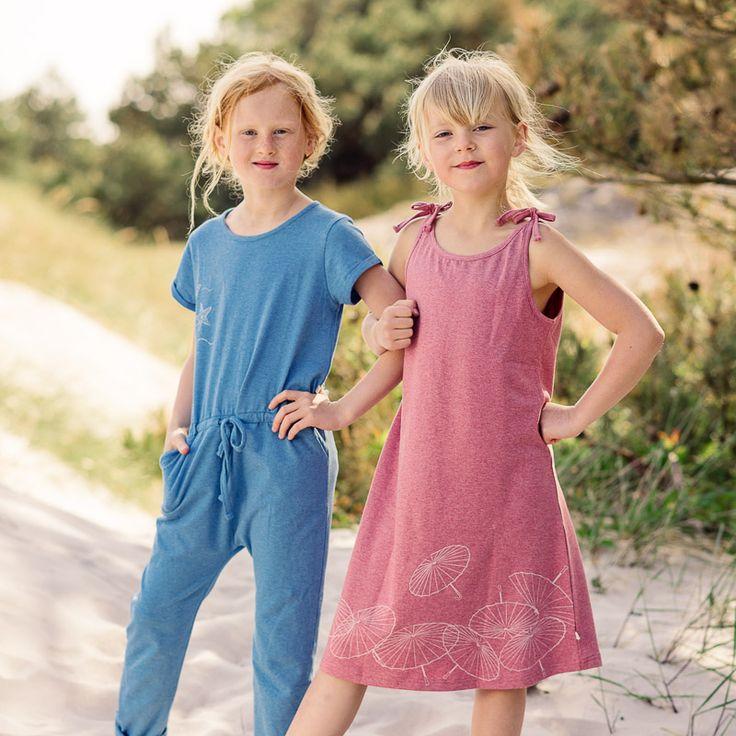 Best friends in blue and pink SS17 #ebbekids.se