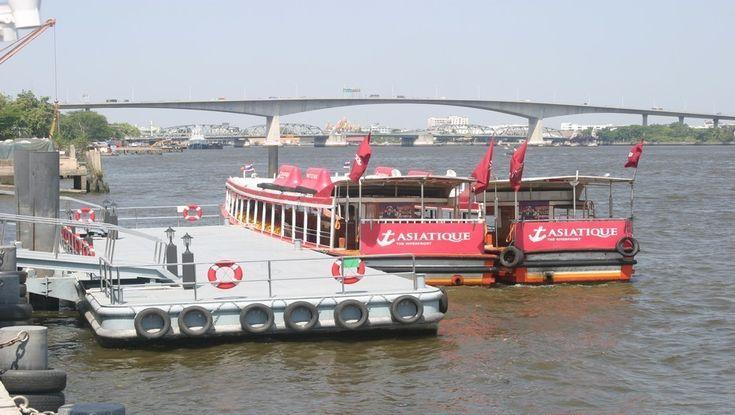 Bangkok :   « Asiatique - The Riverfront »,  un village dans la ville !
