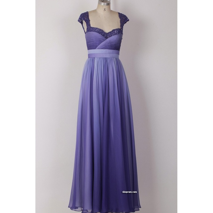 121 best ideas for prom images on pinterest business for Purple ombre wedding dress