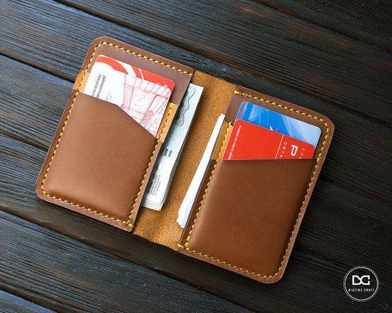 Credit card wallet, slim wallet, slim leather wallet, thin wallet, slim design, thin leather wallet, card wallet leather, mens bifold wallet