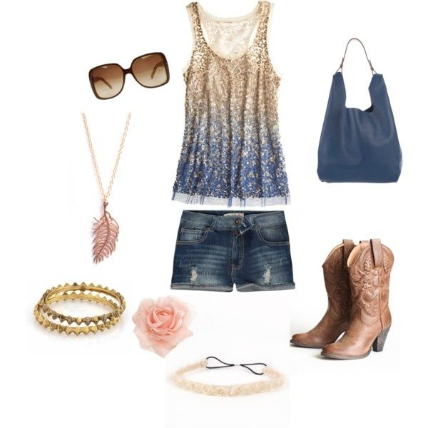 Cute Summer Outfit(: I'm so glad it's finally getting hot out!