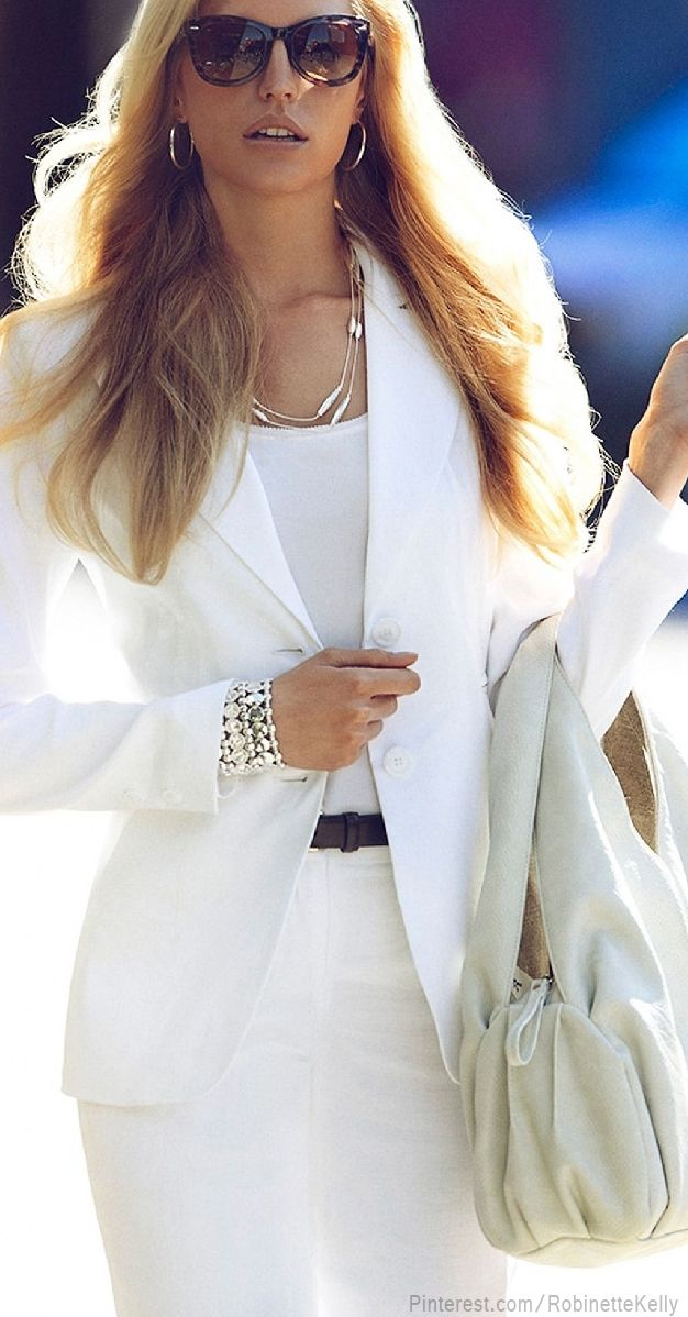 Yes...❤ This white suit