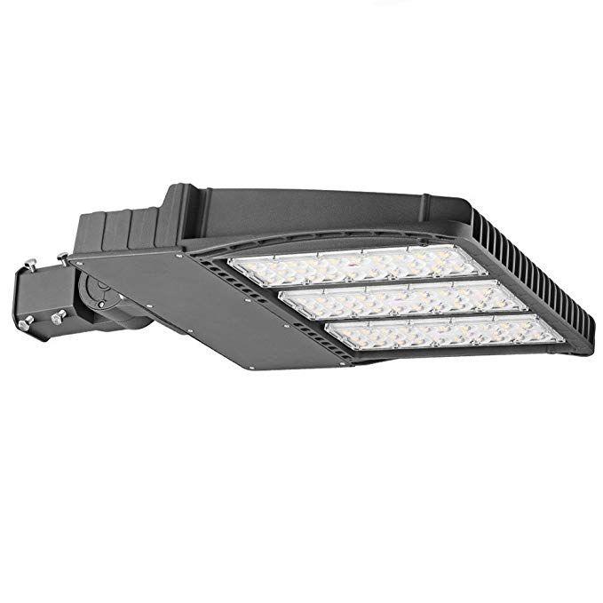 Led Shoebox Light 300w 347v 480v 33 600lm 1000w Equal Waterproof Ip65 Daylight White 5000k Ul Dlc Listed With Slip Fitter M Shoe Box Led Outdoor