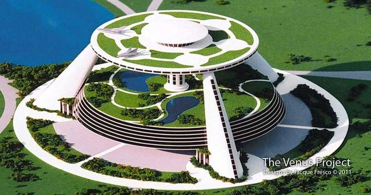 Jacque Fresco City Systems | Future Design | Pinterest ...