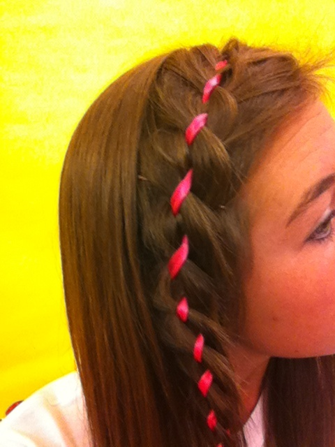 Ribbon Braid (Breast Cancer Ribbon)