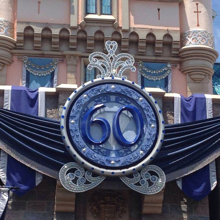 #Disneyland 60th Anniversary Celebration via the Disneyland Facebook page