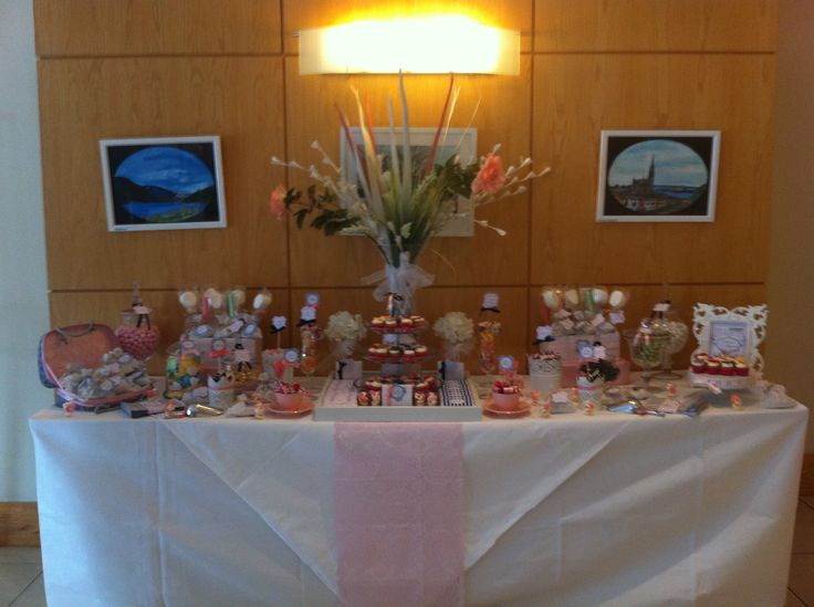 Wedding Candy Buffet at Springhill Court Hotel Kilkenny by Sweet Living. www.facebook.com/SweetLivingCandy