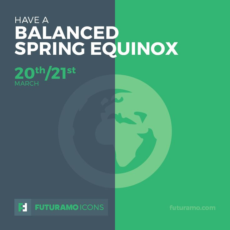 Have a balanced spring equinox! Check out our FUTURAMO ICONS – a perfect tool for designers & developers on futuramo.com