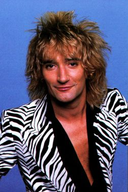 Rod Stewart...don't ask....I've loved him since I was little. I think it's the hair and the raspy voice.