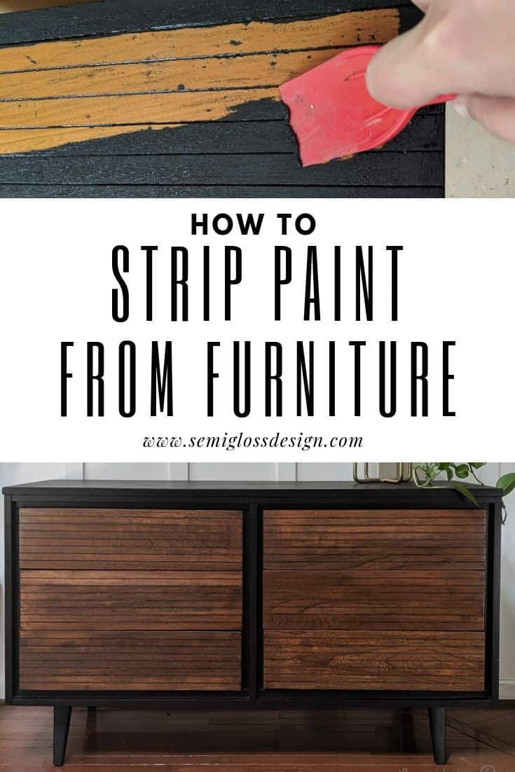 Furniture Stripping To Remove Paint Without Losing Your Mind