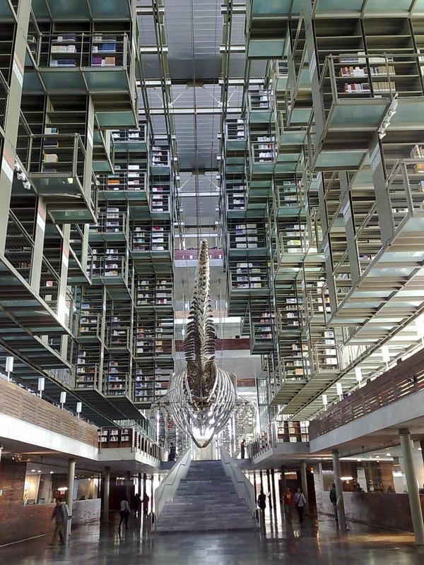 Vasconcelos Library, Mexico City