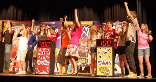 "Game Show Assembly---plan a ""Behavior Game Show"" to teach/review PBIS: Be Safe, Be Respectful, Be Responsible"