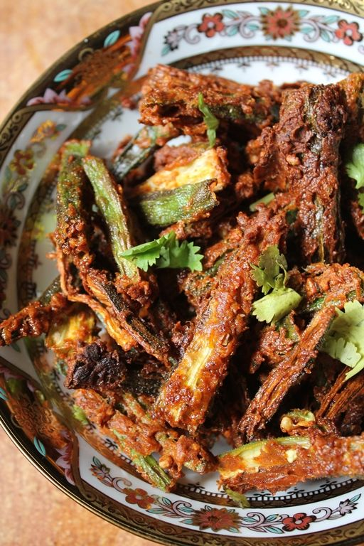 YUMMY TUMMY: Kurkuri Bhindi Recipe / Vendakkai Fry Recipe / Crispy Lady Finger Fry Recipe