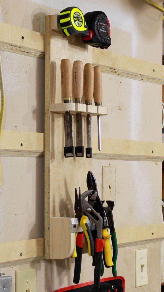 How To Make A French Cleat Hand Tool Holder – Jays Custom Creations