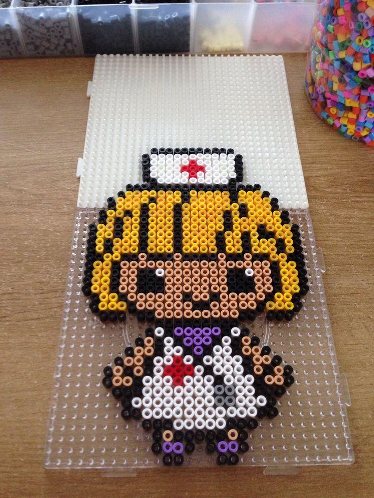 Hama beads nurse